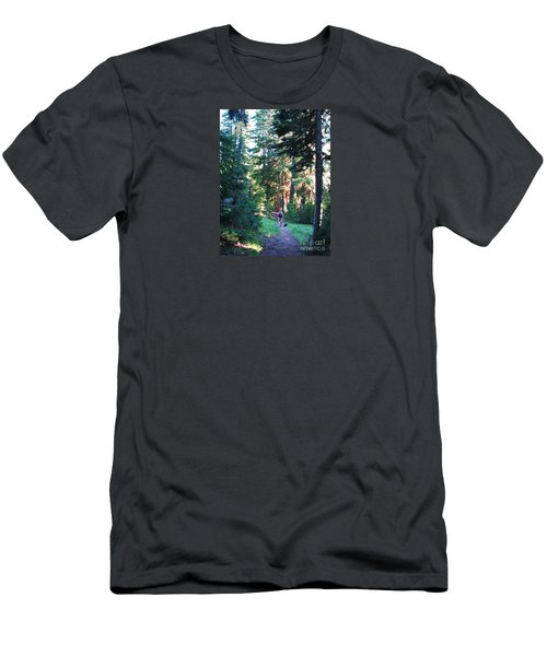 On A Hike Men's T-Shirt (Athletic Fit)