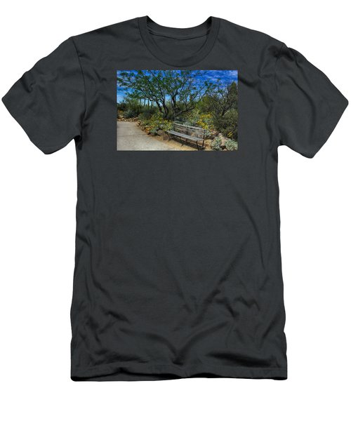 Peaceful Moment Men's T-Shirt (Slim Fit) by Elaine Malott