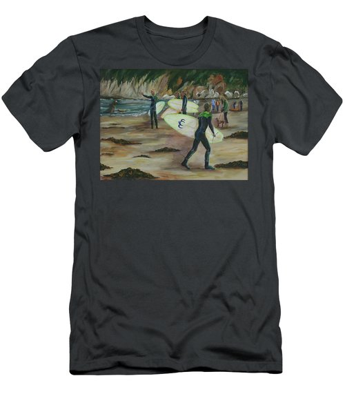 Pismo Beach Men's T-Shirt (Slim Fit)