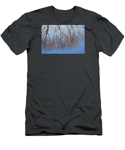 Men's T-Shirt (Slim Fit) featuring the photograph Reflections by Ramona Whiteaker