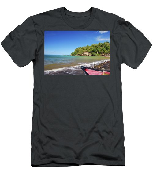 Men's T-Shirt (Athletic Fit) featuring the photograph Saint Lucia by Gary Wonning