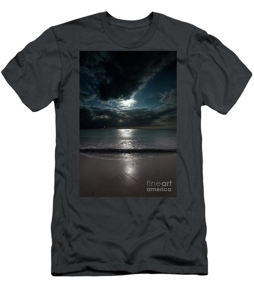 Sea And Clouds Men's T-Shirt (Athletic Fit)