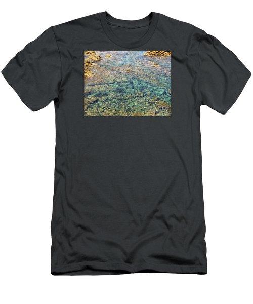 Sea  Men's T-Shirt (Slim Fit) by Yury Bashkin