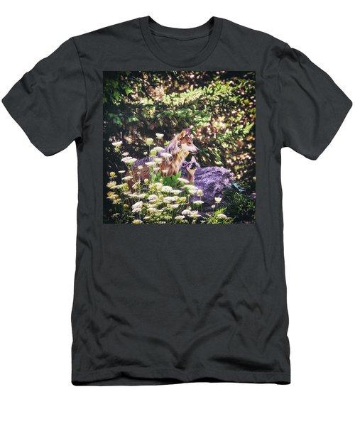 Secret Admirer Men's T-Shirt (Athletic Fit)
