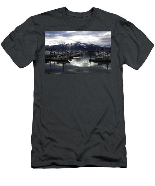 Seward Harbor Men's T-Shirt (Athletic Fit)
