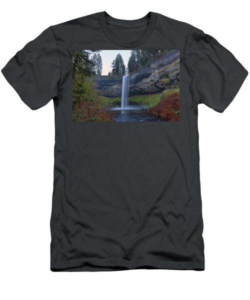 South Falls At Silver Falls State Park Men's T-Shirt (Athletic Fit)