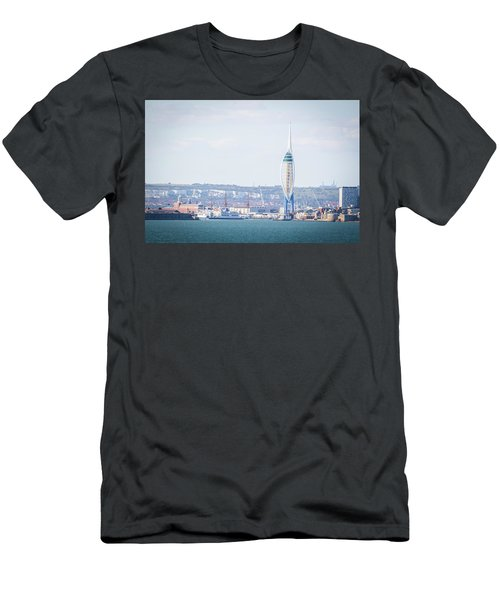 Spinnaker Tower Men's T-Shirt (Athletic Fit)
