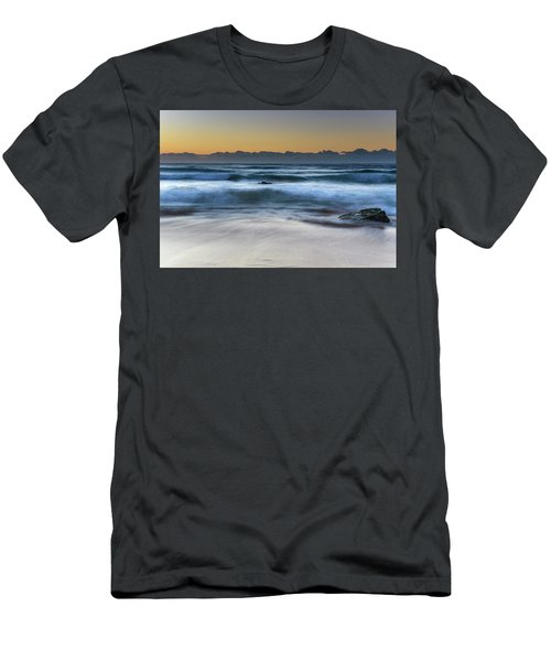 Sunrise By The Sea Men's T-Shirt (Athletic Fit)