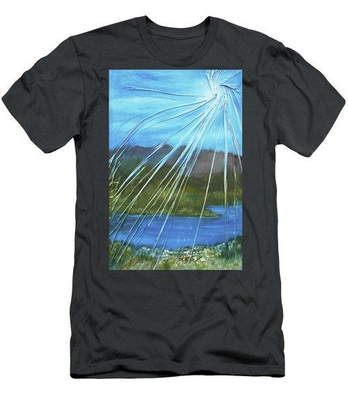 Sunshine Over Boise Men's T-Shirt (Slim Fit) by Angela Stout