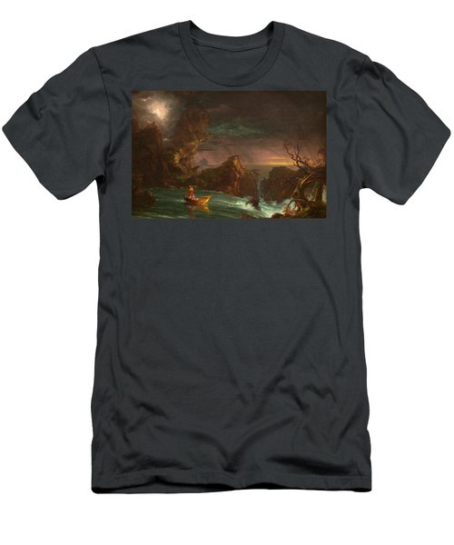 The Voyage Of Life, Manhood Men's T-Shirt (Athletic Fit)
