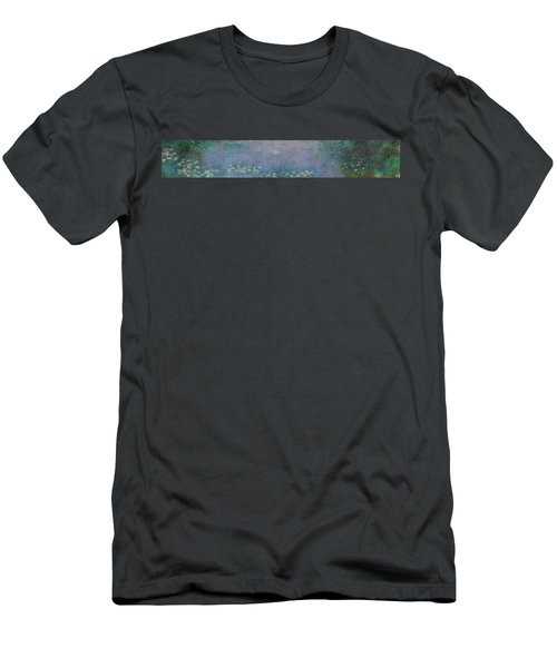 The Water Lilies, Morning Men's T-Shirt (Athletic Fit)