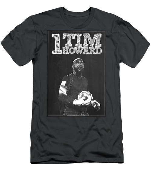 Tim Howard Men's T-Shirt (Slim Fit) by Semih Yurdabak