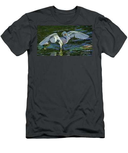 Tricolor Hunting Men's T-Shirt (Athletic Fit)