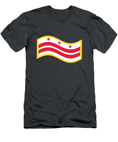 Washington, D.c. Flag Men's T-Shirt (Slim Fit) by Frederick Holiday
