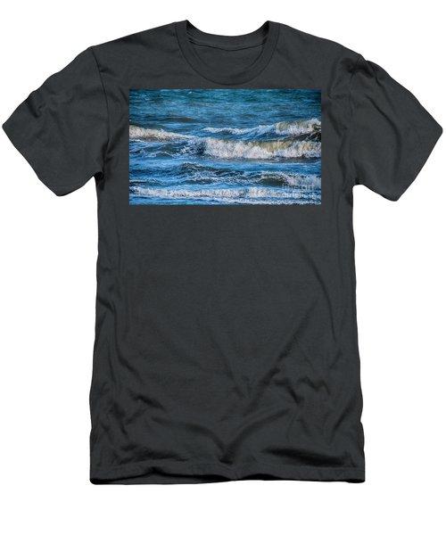 Wave Action Men's T-Shirt (Athletic Fit)
