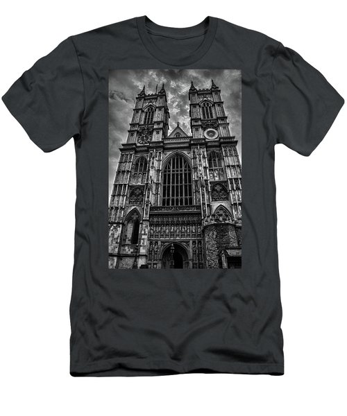 Westminster Abbey Men's T-Shirt (Slim Fit) by Martin Newman