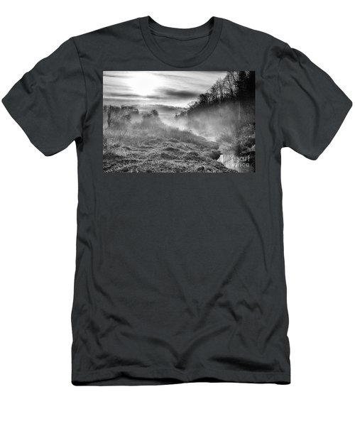 Men's T-Shirt (Slim Fit) featuring the photograph Winter Mist by Thomas R Fletcher
