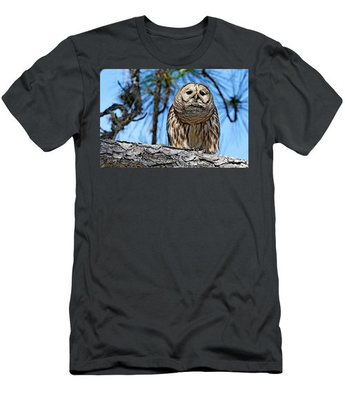 Wise Owl Men's T-Shirt (Athletic Fit)