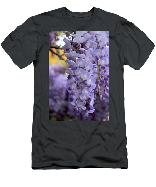 Wisteria Blossom Men's T-Shirt (Athletic Fit)