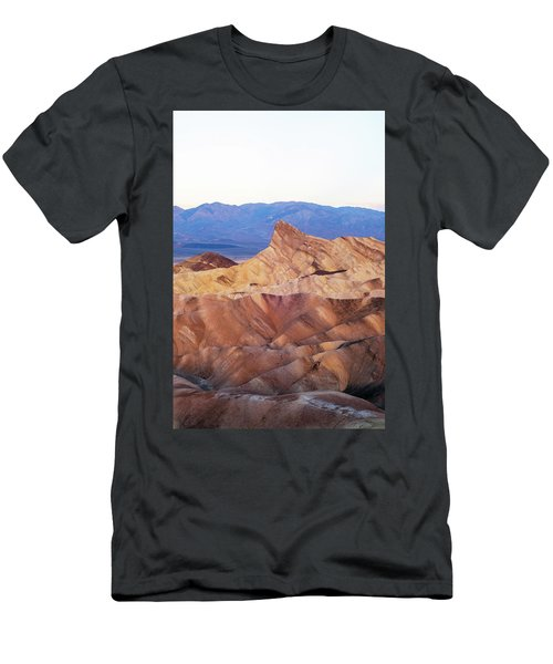 Men's T-Shirt (Slim Fit) featuring the photograph Zabriskie Point by Catherine Lau