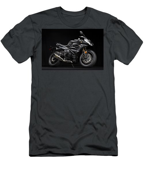2014 Triumph Daytona 675 Disalvo Edition Men's T-Shirt (Athletic Fit)