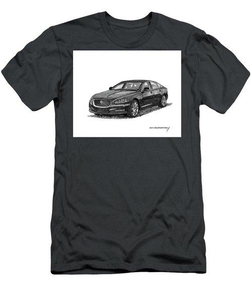 2015 Jaguar X J L Men's T-Shirt (Athletic Fit)