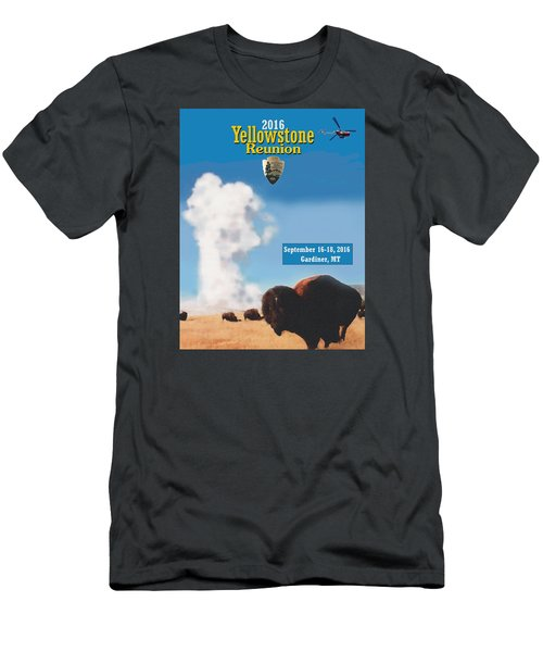 2016 Yellowstone Nps Reunion Men's T-Shirt (Athletic Fit)