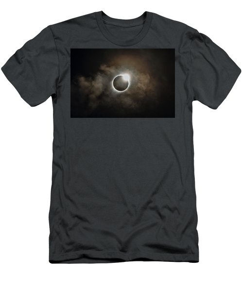 2017 Solar Eclipse Exit Ring Men's T-Shirt (Athletic Fit)
