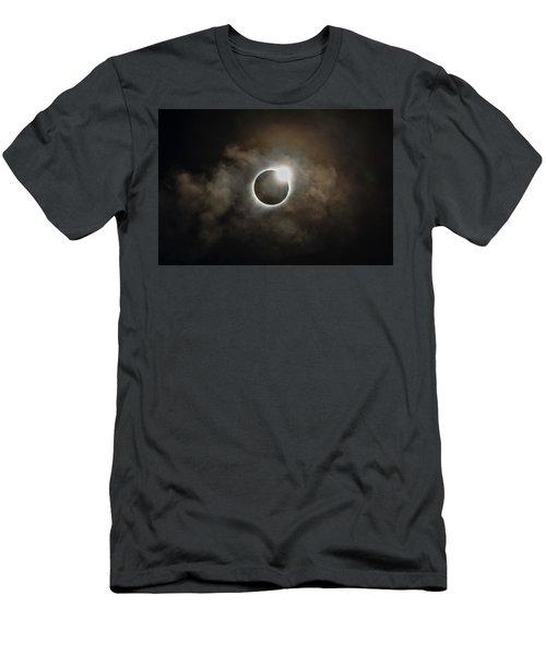 2017 Solar Eclipse Exit Ring Men's T-Shirt (Athletic Fit)