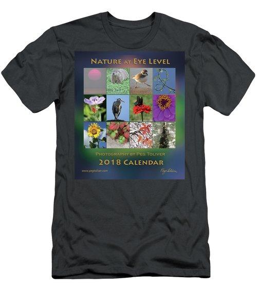 2018 Calendar Thumbprints Men's T-Shirt (Athletic Fit)