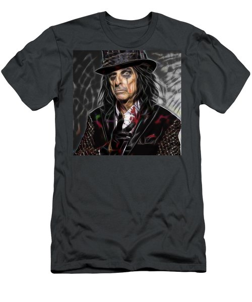 Alice Cooper Collection Men's T-Shirt (Athletic Fit)