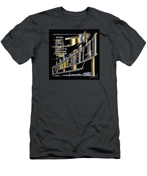 21st Century Erector Set ? Men's T-Shirt (Slim Fit) by Walt Foegelle
