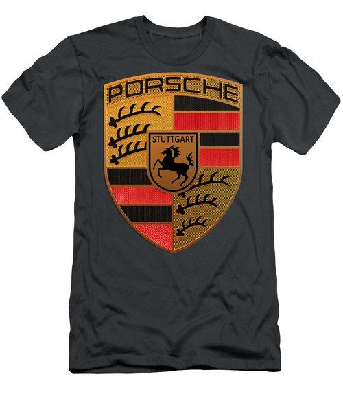 Porsche Label Men's T-Shirt (Athletic Fit)