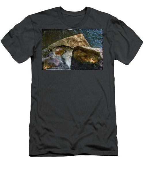 Stone Sharkhead Men's T-Shirt (Athletic Fit)
