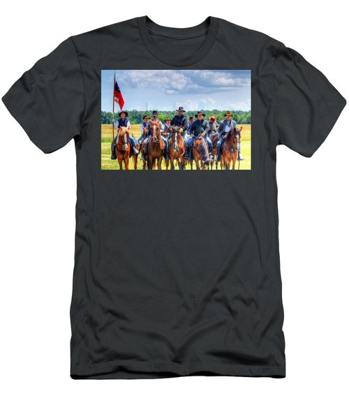 2nd Us Cavalry  Men's T-Shirt (Athletic Fit)