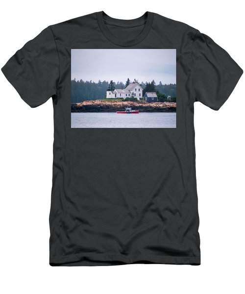 Acadia National Park  Men's T-Shirt (Slim Fit) by Trace Kittrell