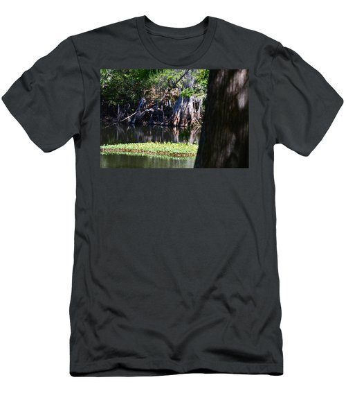 Across The River Men's T-Shirt (Slim Fit) by Warren Thompson