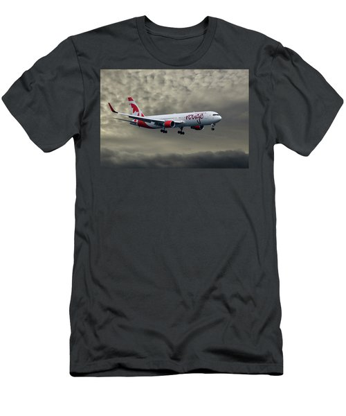 Air Canada Rouge Boeing 767-333 Men's T-Shirt (Athletic Fit)