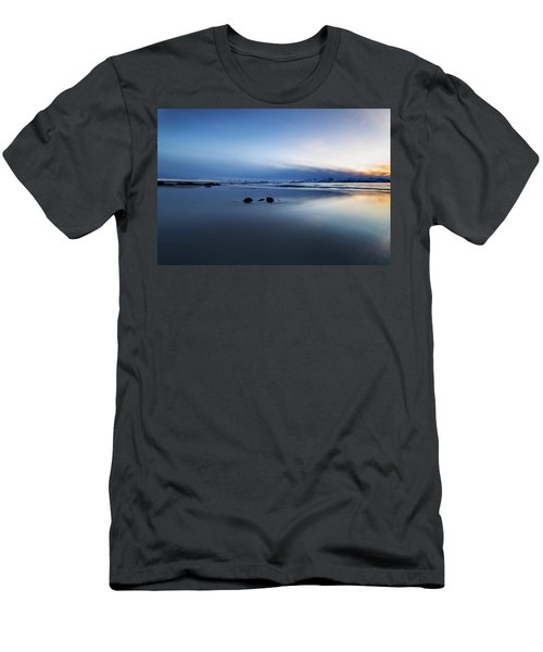 Arctic Sunset Men's T-Shirt (Athletic Fit)