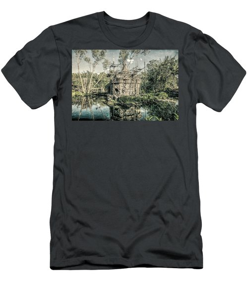 Men's T-Shirt (Athletic Fit) featuring the photograph D Abstract Photography by Kevin Blackburn
