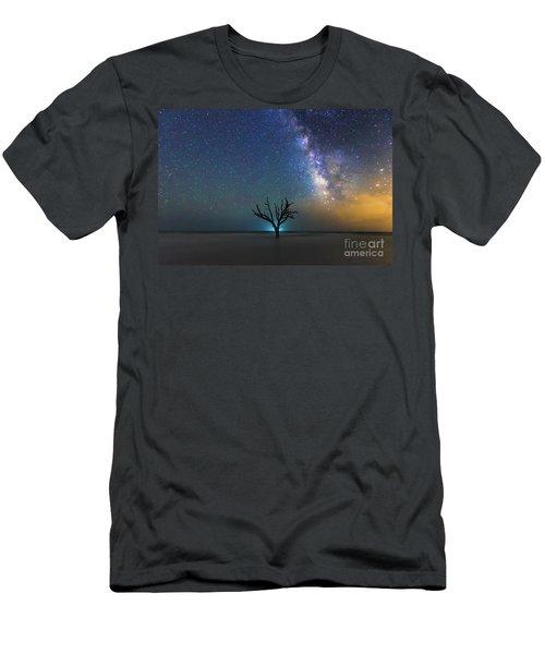 Edisto Island Milky Way Men's T-Shirt (Slim Fit) by Robert Loe