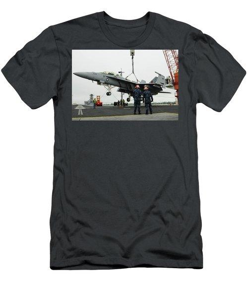 Mcdonnell Douglas F/a-18 Hornet Men's T-Shirt (Athletic Fit)