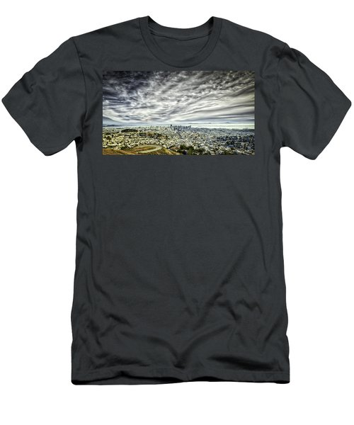 Men's T-Shirt (Athletic Fit) featuring the photograph San Francisco by Chris Cousins