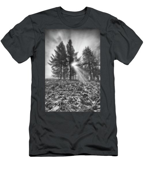 Men's T-Shirt (Athletic Fit) featuring the photograph Scottish Sunrise by Jeremy Lavender Photography