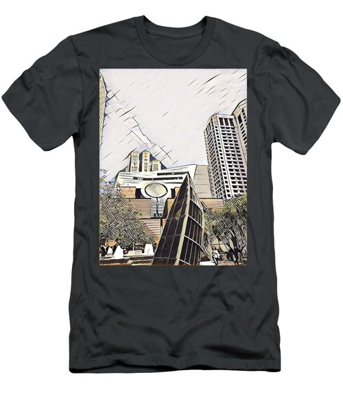 Sf Moma Men's T-Shirt (Athletic Fit)