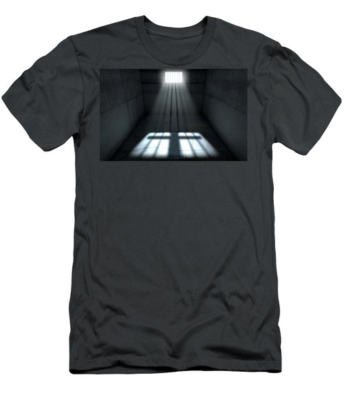 Sunshine Shining In Prison Cell Window Men's T-Shirt (Athletic Fit)