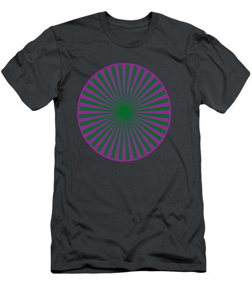 T-shirts N Pod Gifts With Chakra Design By Navinjoshi Fineartamerica Pixels Men's T-Shirt (Slim Fit) by Navin Joshi