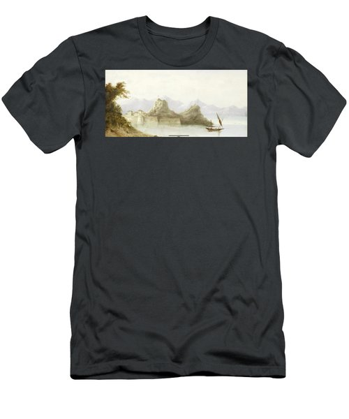 The Old Fortress Of Corfu Men's T-Shirt (Athletic Fit)