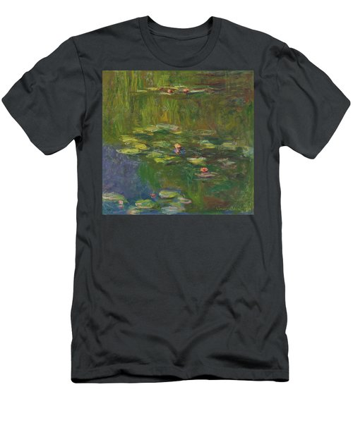The Water Lily Pond Men's T-Shirt (Athletic Fit)