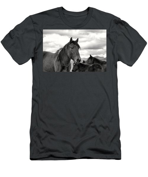 Virginia Range Mustangs Men's T-Shirt (Athletic Fit)